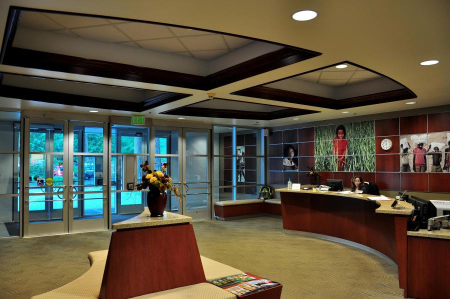 Commercial Lobby Tenant Improvement Remodel Tacoma Kent Renton Federal Way