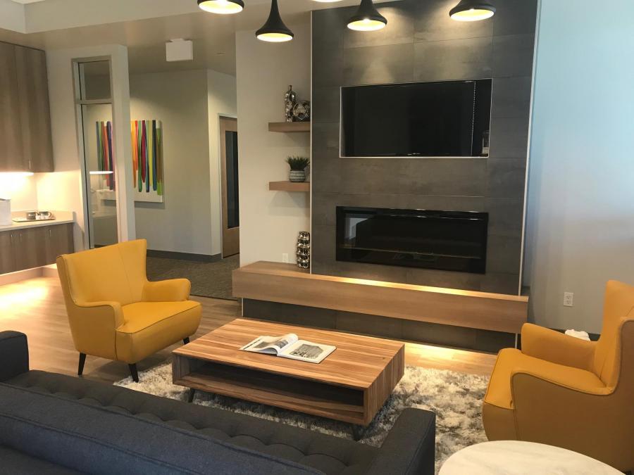 Lobby Reception Tenant Improvement Commercial Remodel  Kent Tacoma Federal Way Renton Auburn Sumner