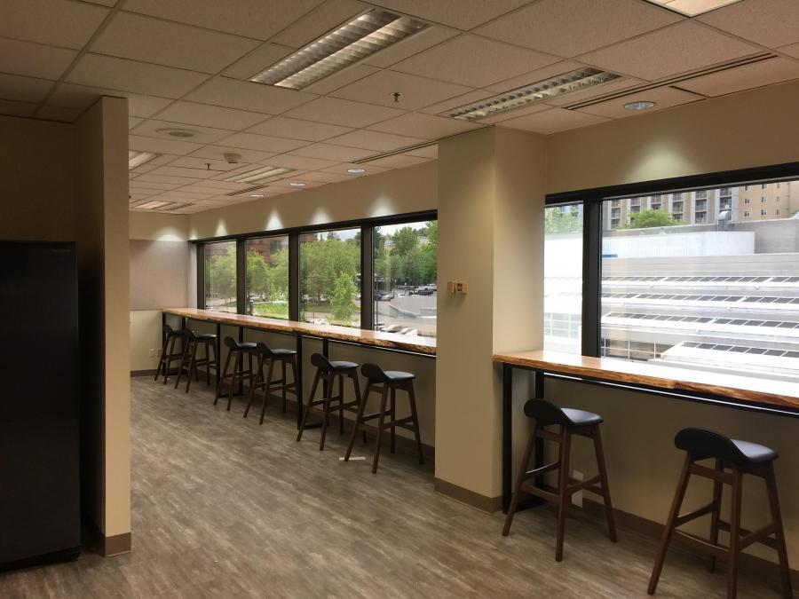 Office Custom Break Room Commercial Tenant Improvement Tacoma