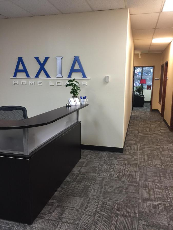 AXIA Reception Lobby Tenant Improvement