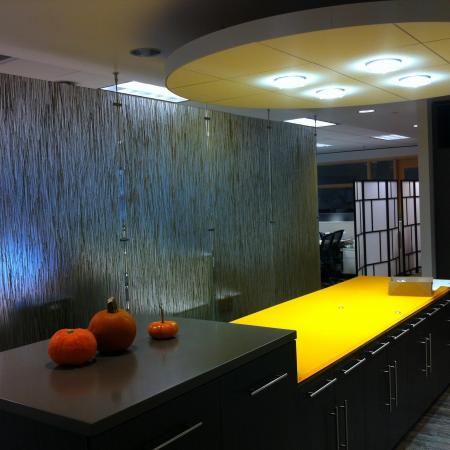 Lobby Reception Tenant Improvement Commercial Remodel