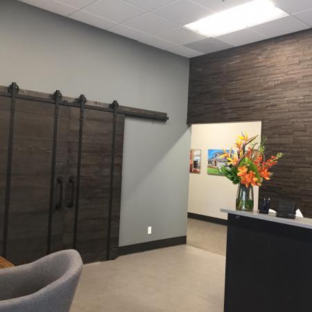 Office Lobby Tenant Improvement Commercial Reception Tacoma Fife Seattle